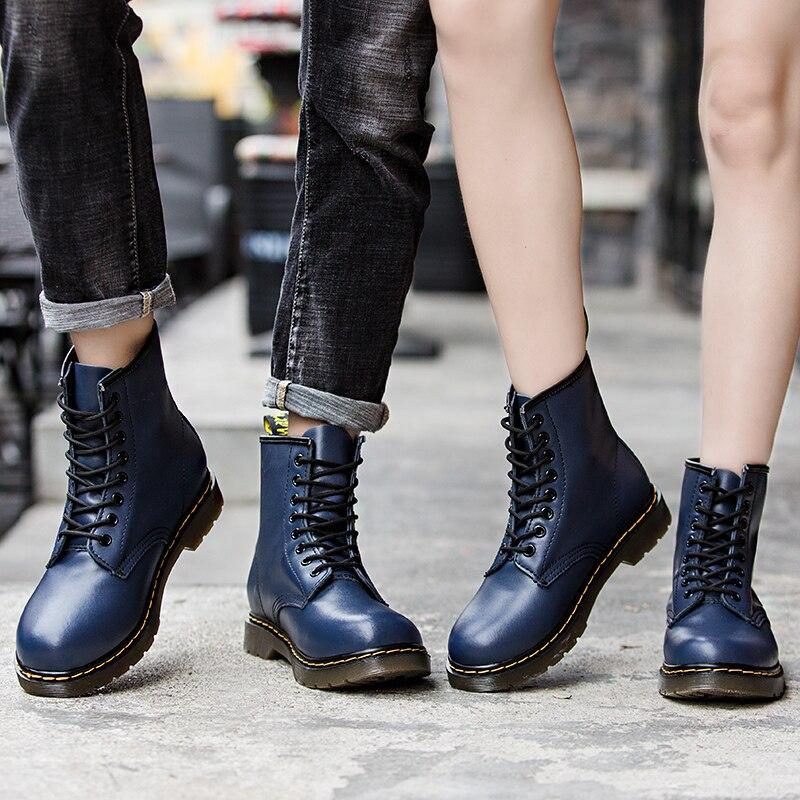Wonderbaarlijk Goede Koop Doc Mart Classic Vrouwen Laarzen Britse Mains Echt Matn KJ-28