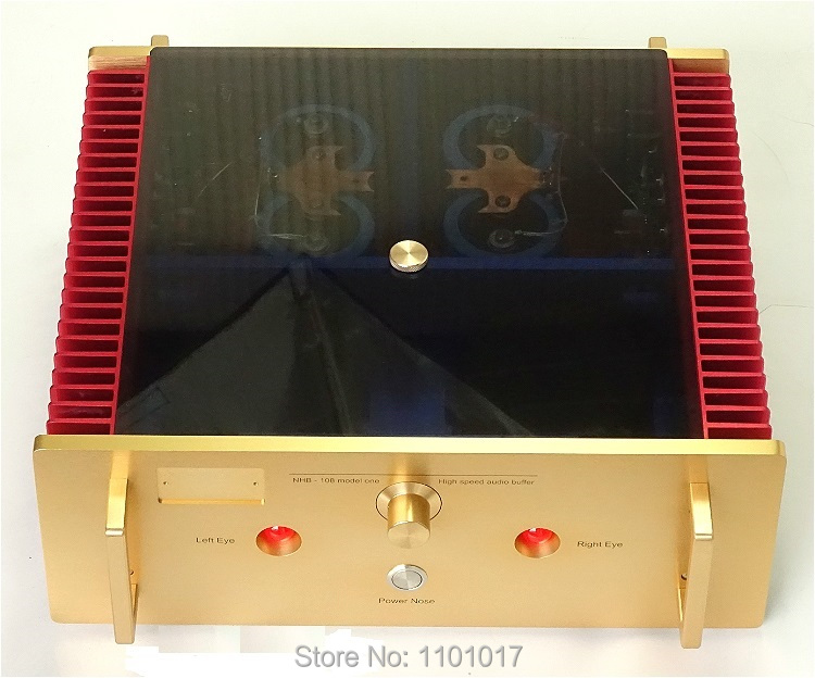 Weiliang Brezza Audio A100 Pieno Replica NHB 108 Amplificatore HIFI-EXQUIS No Circuito di Feedback Negativo Hi-end Solido Amp WBANHB108