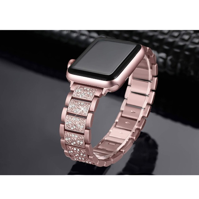 Women Diamond Band for Apple Watch 4