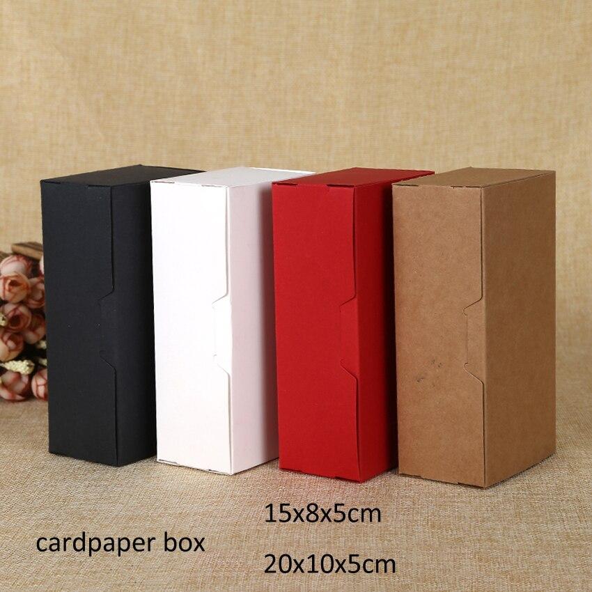 30pcs/lot 15x8x5cm/20x10x5cm brown color Kraft paper DIY handmade soap boxes, Folding gift box customized nougat logo printing