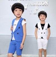2 10Y Summer Children Short Wedding Children Suit Boys KS 2039