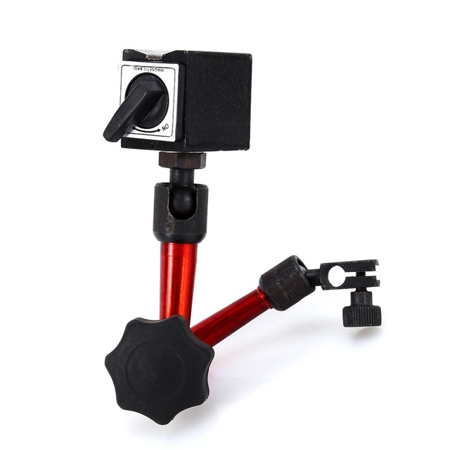 With Stand Measuring Tools Free ShippingProfessional Mini Magnetic Base Holder For Digital Level Dial Testing Indicator Tool