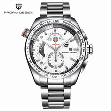 Pagani Design Outdoor Sports Watches Men Luxury Brand Japan Movement Quartz Watch Dive Stainless Steel Clock relogio masculino