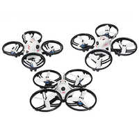 JMT ET100 BNF Borstelloze FPV RC Racing Drone 4-as Mini Quadcopter met FM800/Frsky XM/Flysky ontvanger Zoemer