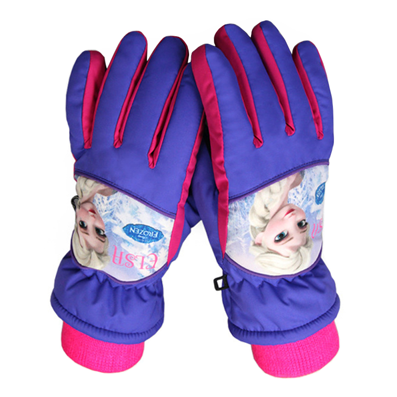 Children Snow Gloves Outdoor Windproof Child Skiing Gloves Snowboarding Gloves For Kids