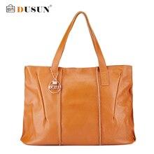 DUSUN New Women Handbags Genuine Leather Large capacity Fashion Women Bags High Quality Brand Design Casual Shoulder Bag HMJL001