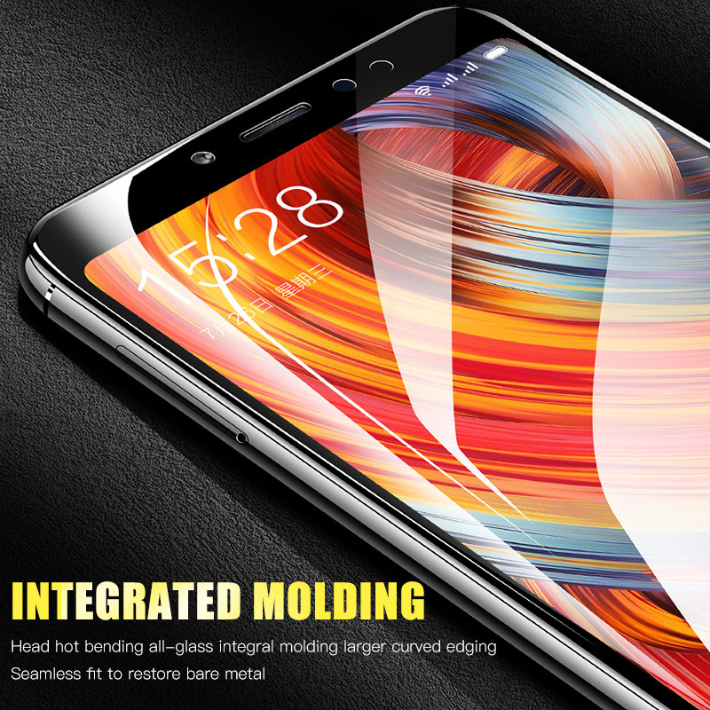 Image 5 - H&A 25D Curved Edge Protective Glass on the For Xiaomi Redmi 7 6 Pro 6A 4X 5 Plus Tempered Screen Protector Note 7 6 5 Pro Glass-in Phone Screen Protectors from Cellphones & Telecommunications