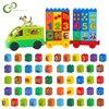 26 Uds DIY Número de letra de alfabeto grande de accesorios de bloques de construcción Compatible con juguetes para niños GYH