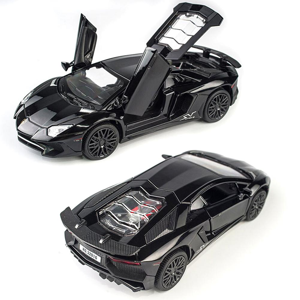 1:32 Alloy Cars Models Aventador LP750 Diecast Model Vehicles Car Sound Light Pull Back Car Toy Miniature Scale Model Cars Toys gifts 1 32 ros fiatagri g240 tractor models alloy car models favorites model