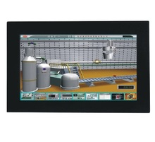 19 inch fanless industrial panel pc, 16:9 LCD, 1037U CPU,2GB RAM/320GB HDD, 4xRS232, 4xUSB, GLAN, all in cone touchscreen HMI