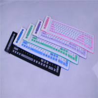2 4Ghz Wireless Silicone Keyboard Foldable Flexible Mini Slim Teclado Soft Universal Gamer Portable Roll Up
