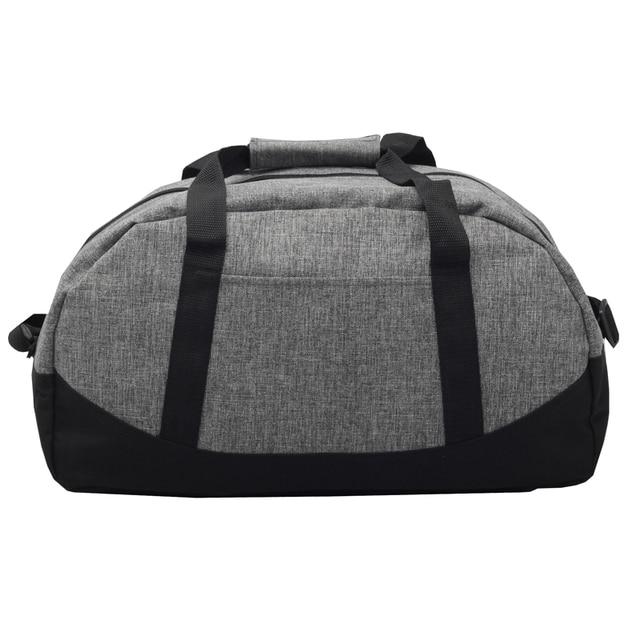 VKYSTAR дорожная сумка прочный материал полиэфира 600D мешок мужчины женщины сумки молния сумки женский черный серый 619