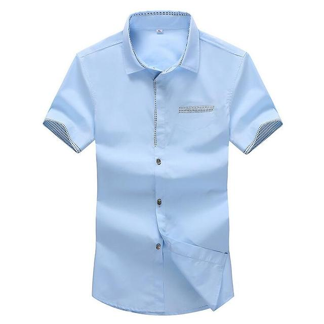 Бесплатная доставка 2016 летом новый мужской чистый цвет Добавить удобрения плюс Большой размер тонкий джокер простой Коротким рукавом футболка Дешевые оптовая