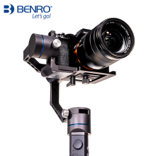 Benro R1 Professional Handheld 3-axis stabilizer for camera and mobile phone Gimbal anti-shake Multifunction Stabilizer benro handheld