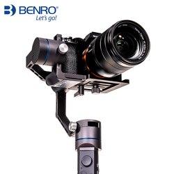 Benro R1 profesjonalny ręczny stabilizator 3-osiowy do aparatem i telefon komórkowy Gimbal anti-shake wielofunkcyjny stabilizator