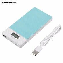 Pineng PN-993 Мощность Bank 10000 мАч внешний Батарея Портативный Зарядное устройство Мощность Bank 10000 мАч для мобильных телефонов планшетный ПК Universial