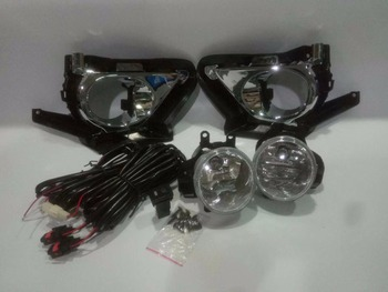 Osmrk fog lamp cover frame base shell+fog light,and Wiring harness switch for Toyota KIJANG INNOVA/CRYSTA 2016-ON