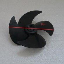 Запчасти для морозильной камеры 16 см диаметр радиатора Вентилятор охлаждения лезвие Металл центральный 4 мм