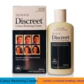 100% Australia made Restoria Discreet Colour Restoring Cream/ Lotion, Hair Care150ml, Reduce Grey Hair - Suitable for Men &Women