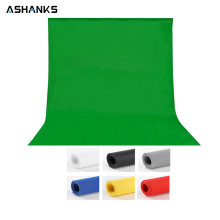 1.6X3M/5X10FT Photography Studio Green Screen Chroma key Background Backdrop for Wedding Photo lighting Non Woven Fabric Curtain