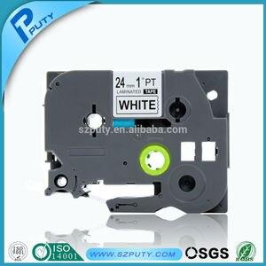 5PK P-touch черная на белом совместимая пленка TZ картридж TZ-251 TZe-251