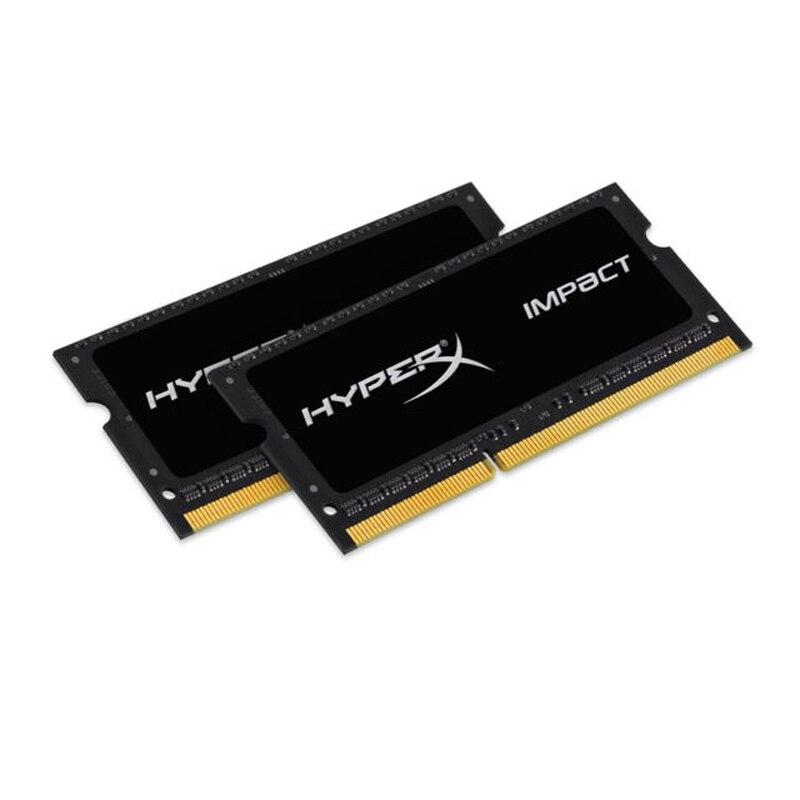 HyperX 16 ГБ DDR3 1600, 16 ГБ, 2x8 GB, DDR3, 1600 мГц, 204 pin SO DIMM, Negro