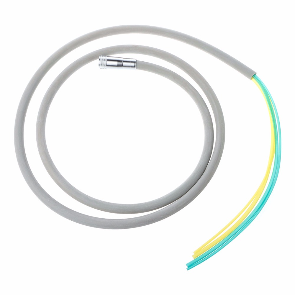 Dental Silicone Tubing Hose For Air Turbine Motor Handpiece Connector 4 Holes