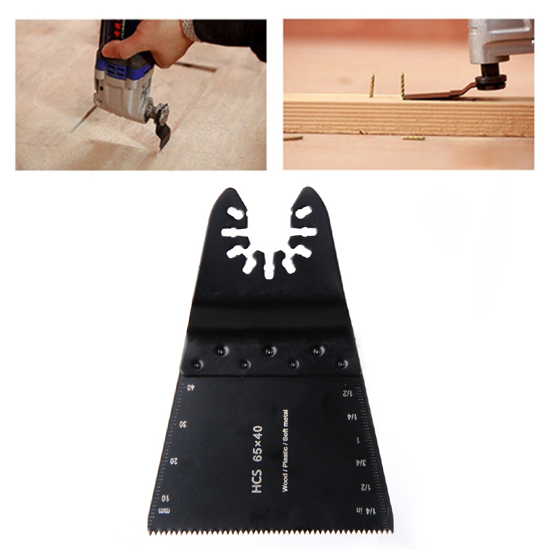 65mm High Carbon Steel Ordinary Tooth Saw Blade HCS Oscillating Multi Tools For Metal Wood Cutting Woodworking Power Tools