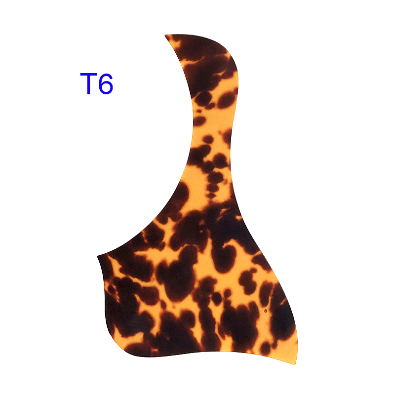 "Купить с кэшбэком Pleroo guitar parts Quality Acoustic Guitar Pickguard Self-adhesive 312CE Style Pick Guard Sticker For 40"" 41"" Size"