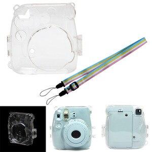 Image 2 - 透明カメラプラスチックシェルケースカバーバッグフジフイルムインスタックスミニ 8