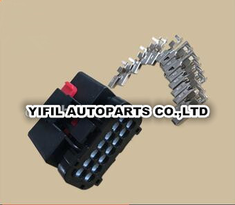 50pcs/lot automotive 14 pin waterproof electrical female pulg sumitomo wire  harness connector kit-in cables, adapters & sockets from automobiles