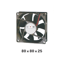 5pcs/ lot 80 Series  DC12V Airflow Axial sleeve bearing Fan 80*80*25mm Cooling Fan for Electric Cabinet or PC XFS8025 цена
