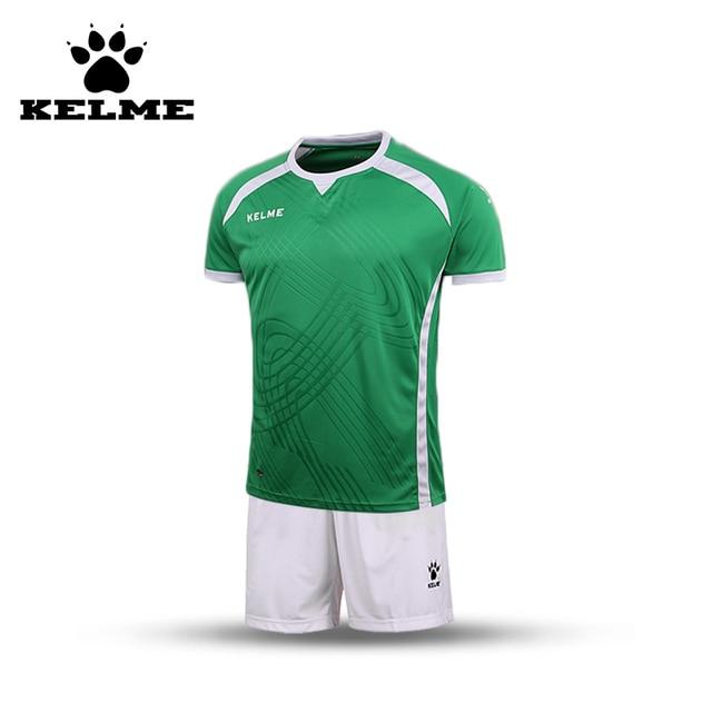 KELME Football Men Shorts Survetement Professional Customized Soccer Uniforms Sets Jerseys Breathable Sportswear Training Set 08