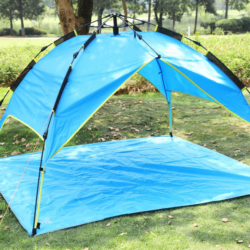 新しい厚いオックスフォードキャンプマット防水ピクニックパッド屋外ビーチピクニック布テントマットクッションマットレス水分パッド