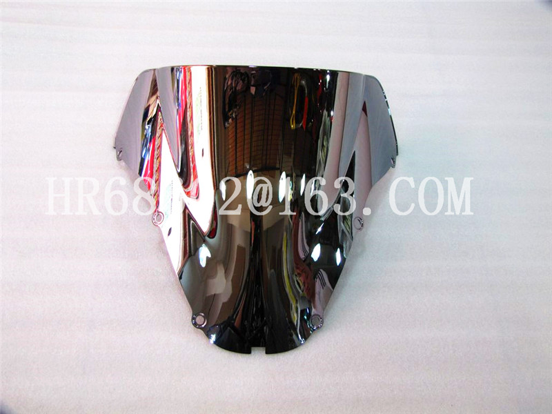 Windshield WindScreen Double Bubble For Honda CBR 900 929 RR 2000 2001 CBR929 R R cbr r r cbr929 CBR929  Iridium