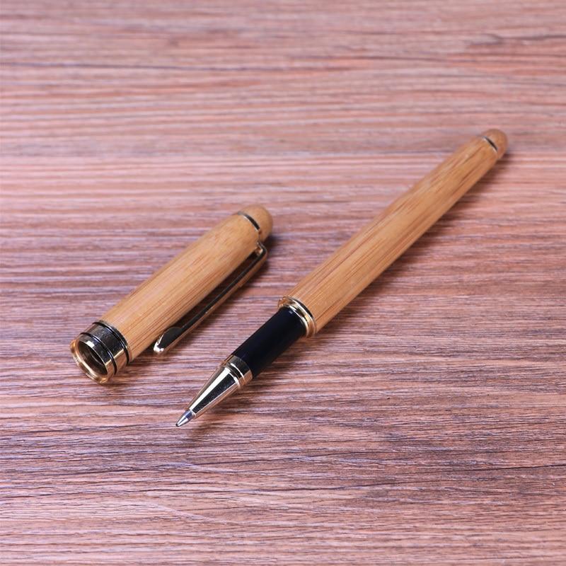 Bamboo gel pen 1