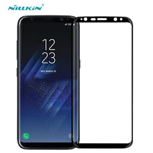 for Samsung Galaxy S8 Tempered Glass S8 Plus Screen Protector Nillkin 3D CP+ MAX Full Coverage Anti-explosion Glass Film For S8 nillkin защитное стекло anti explosion glass screen cp max 3d для iphone 6 6s 4 7