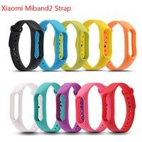 For Original xiaomi miband 2 strap Silicone Wrist Band Bracelet Wrist Strap Replacement miband2 Strap