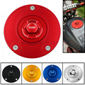 Motorcycle CNC Aluminum Fuel Gas Caps Tank Cap Cover With Rapid Locking For HONDA CB400 VTEC CB-1 NSR250 VTR1000 NC700 CB1300