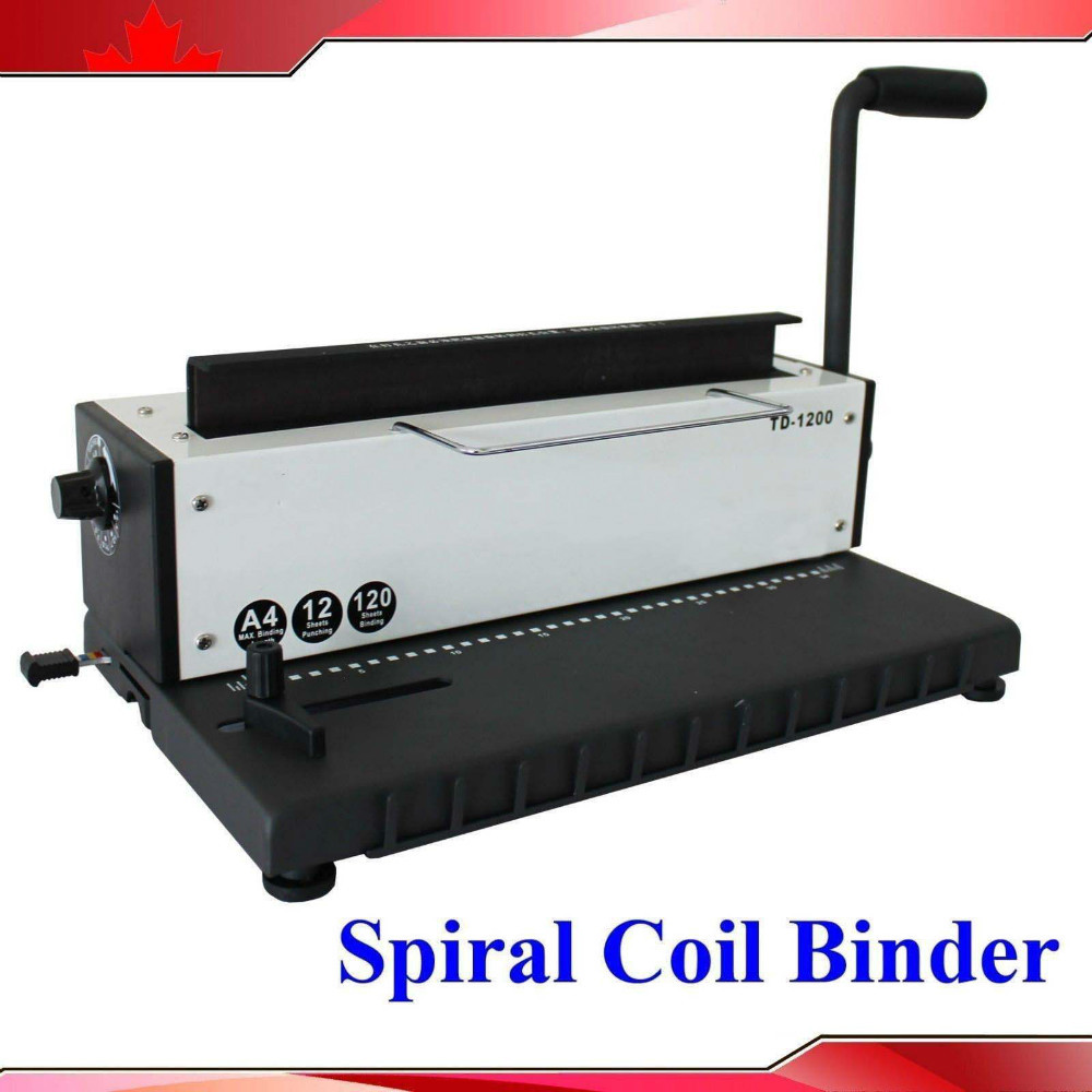 32248998590 on coil binding machine