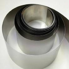 0,05x100mm SS304 Edelstahl Blatt Streifen Edelstahl Folie Dünne Band Alle größen auf lager