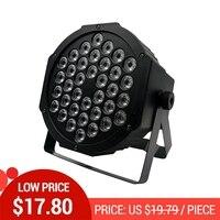 Светодиодный Par огни 36x3 Вт DJ светодиодный RGBW Par огни RGB мыть светомузыка, DMX контроллер эффект для малого Paty KTV сценическое освещение