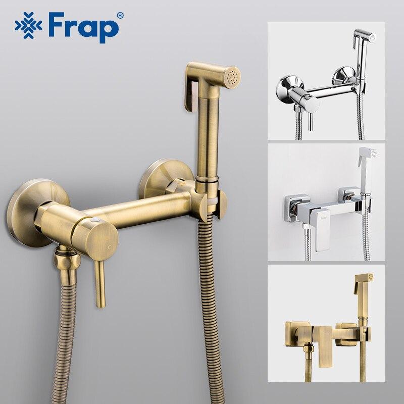 FARP Bidets shower head wash hygienic shower sprayer anal cleaning hot cold mixer toilet spray kit