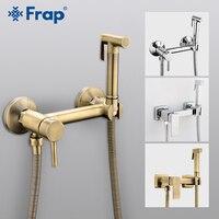 FARP Bidets shower head wash hygienic shower sprayer anal cleaning hot & cold mixer toilet spray kit muslim shower bidet faucet