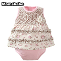 Newborn Baby Girl Romper Dress O-neck 100%Cotton Bebe Menino Costume Infantil Body Baby Christmas Jumpsuits Clothing