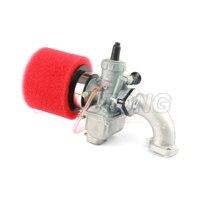 125cc Dirt bike Pit Bike VM22 Carburetor 38mm Air filter 56 2 intake manifold for Mikuni 125 140cc horizontal engine PZ26 26mm