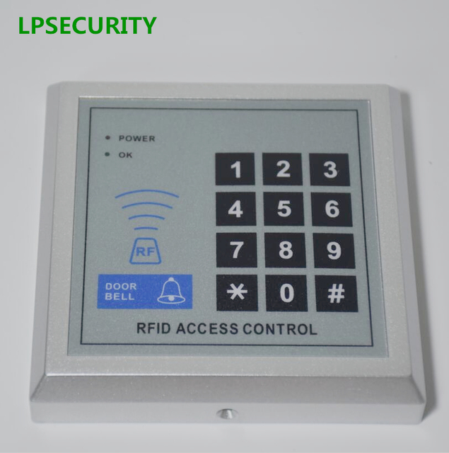 Lpsecurity 125khz Gate Opener Door Access Rfid Proximity Keypad