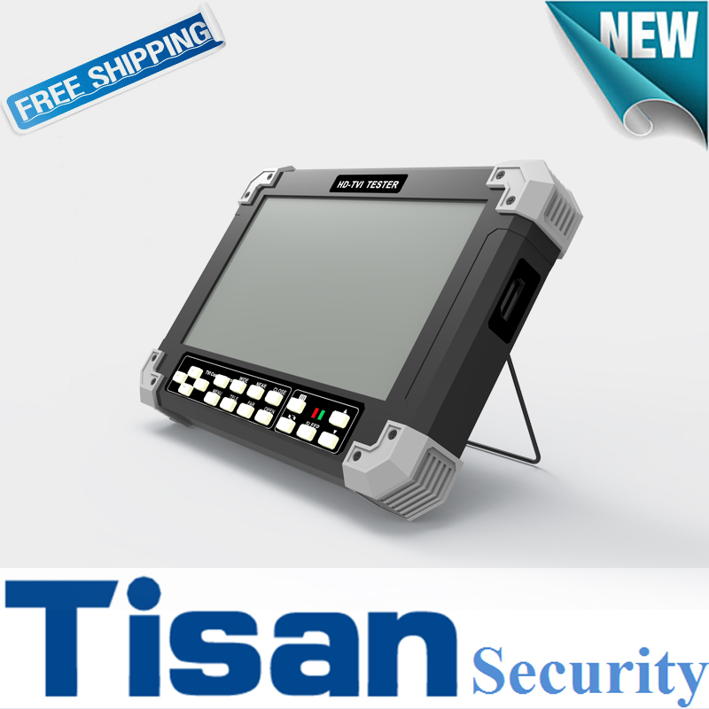 2016 NEW Design 3 0 TVI Tester And 1080P AHD Security Monitor For CFTV Camera Tester