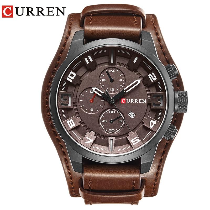 Curren Watches 2017 watches men top brand luxury relogio masculino curren Quartz Wristwatch 8225 in Quartz Watches from Watches