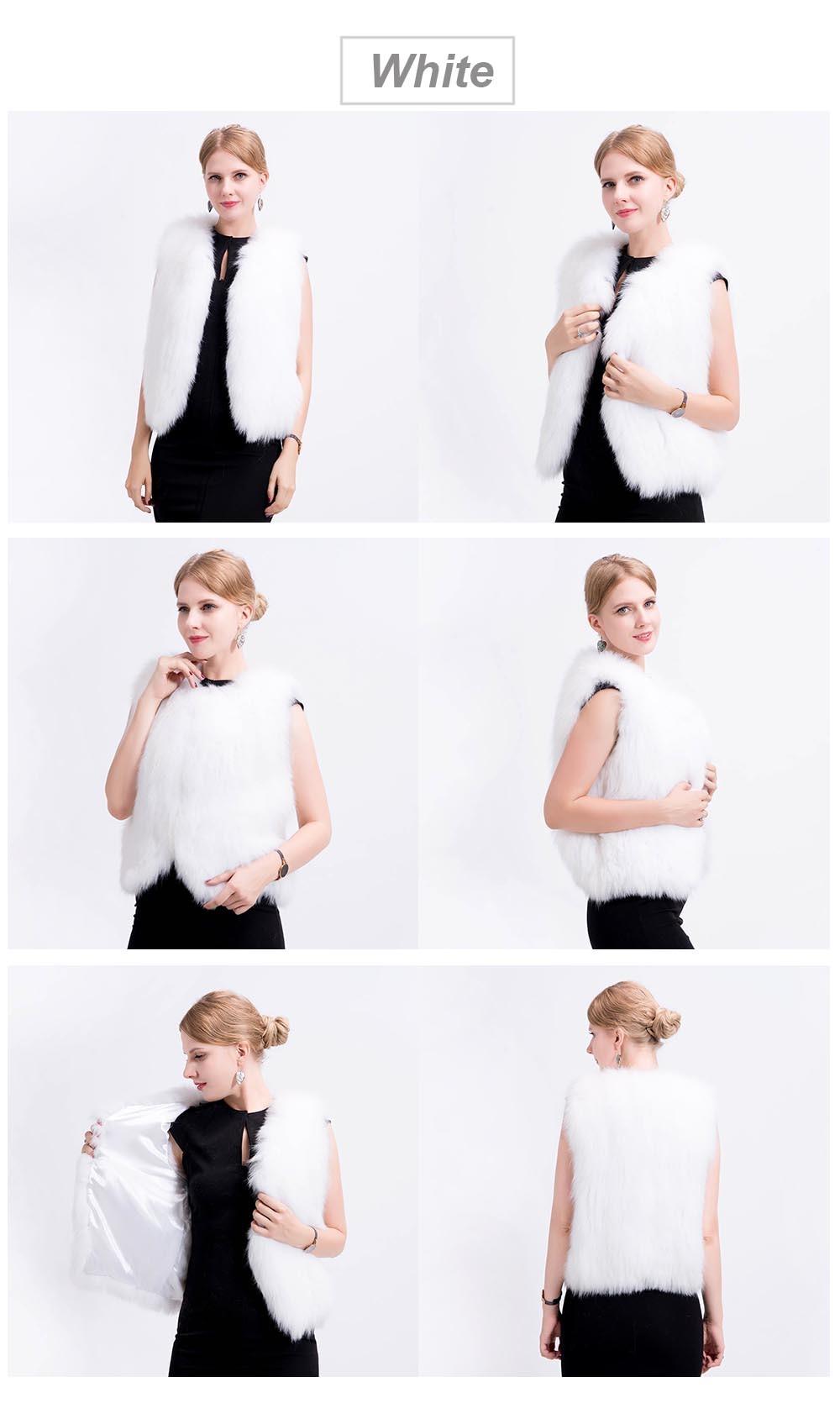 shorter knit fox vest color 3